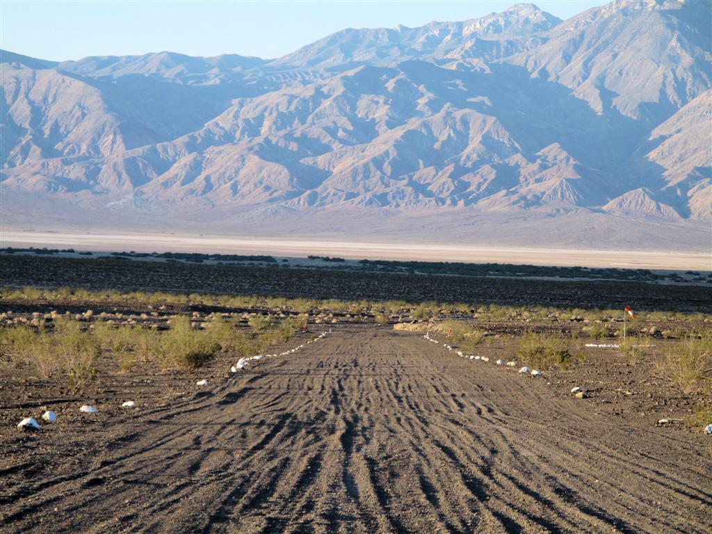 Death Valley and Saline Valley Hot Springs: The Chicken