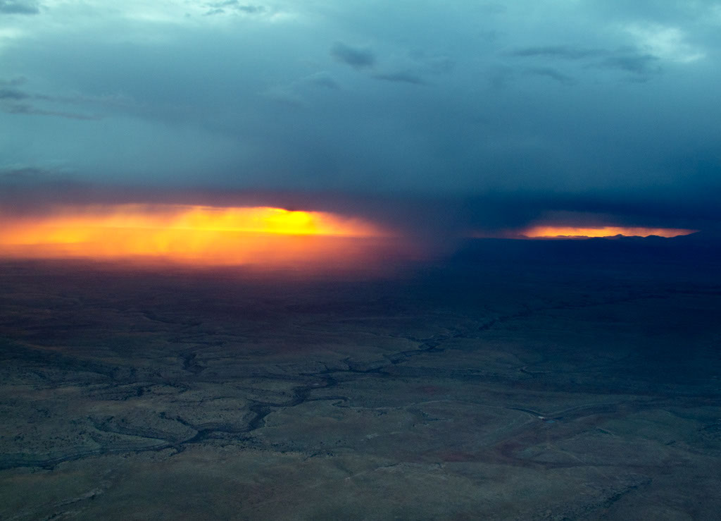 Grand Canyon Storms West Coast Flying Adventures