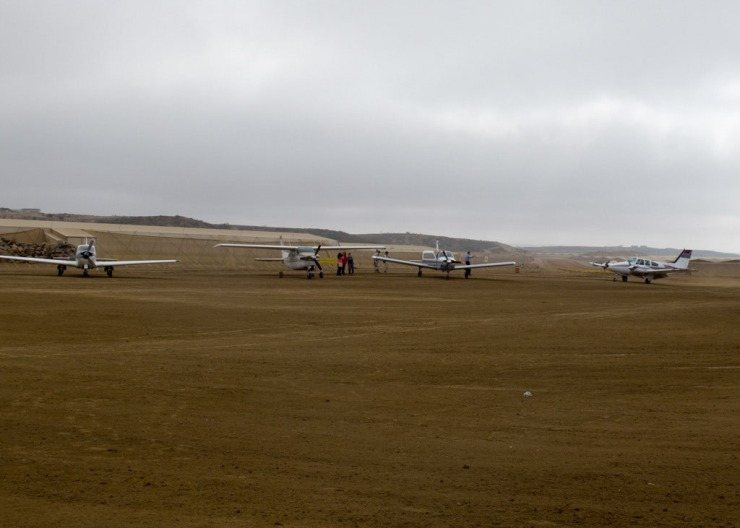 Clinic Planes at Los Pinos airstrip