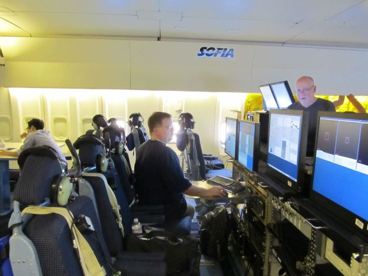 Inside Sophia at Monitoring Stations