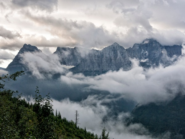 Clearing Storm in Glacier National Park