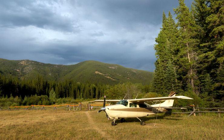 Schafer Meadows airstrip