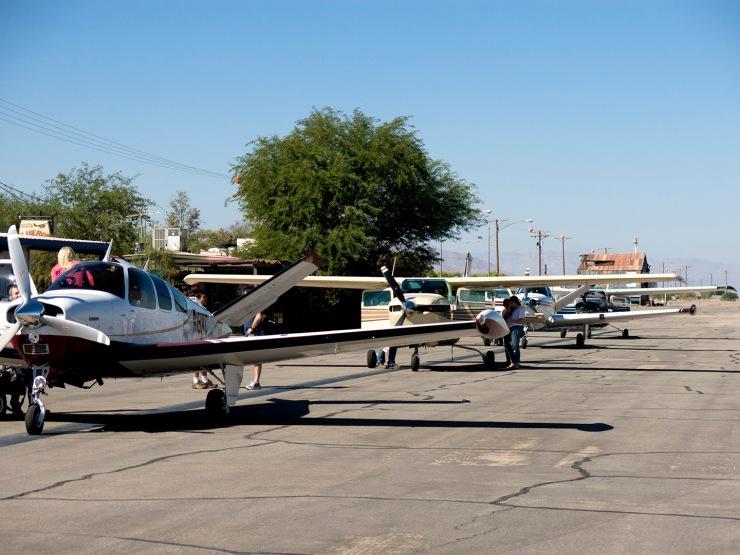 Lineup at customs, Calexico