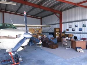 Preflight in the Hangar