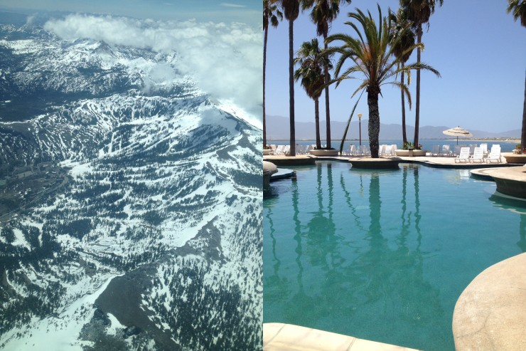 Cloudy Tahoe | Sunny Mexico