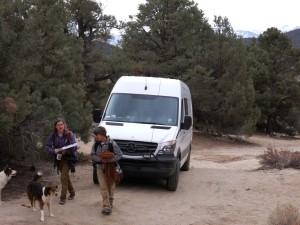 Still pretending its a camper van but not yet