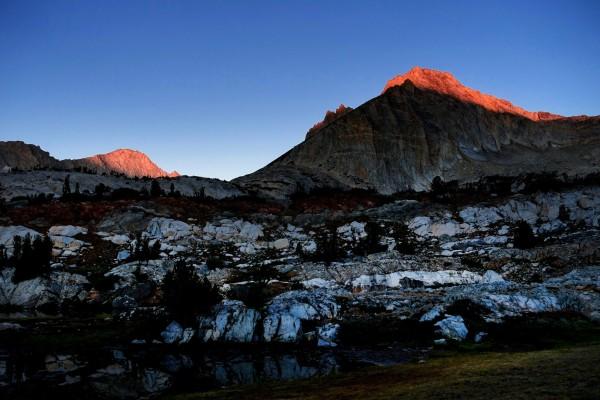 North Peak at Dawn