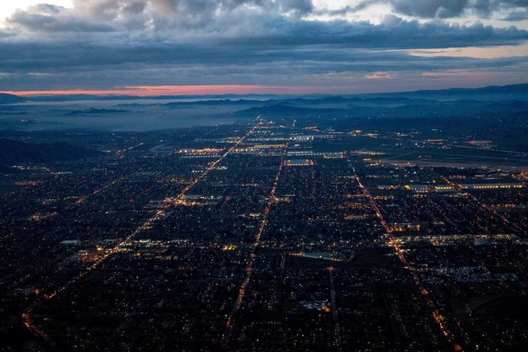 Dawn Departure from LA