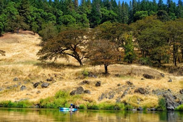 Betsy Kayaking