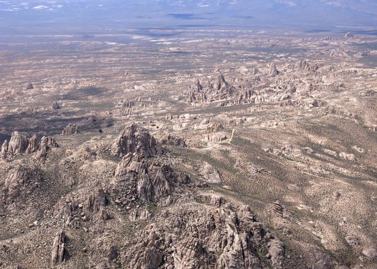 The strange and wonderful Lava Beds, all Granite