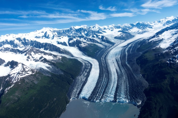 Columbia glacier (Large)