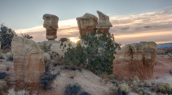 Hoodoo clouds
